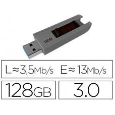 MEMORIA USB EMTEC B250 128 GB USB 3.0 SLIDE