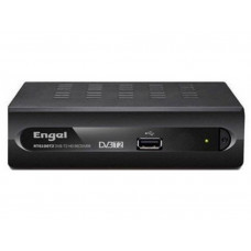 RECEPTOR GRABADOR ENGEL RT6110T2 DVB-T2 HDMI/AV CEC VESA PVR HDMI BIDIRECCIONAL USB 2.0 MP3 JPEG Y VIDEO
