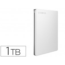 "DISCO DURO EXTERNO TOSHIBA CANVIO SLIM HDD 2,50"" 5.000 MBIT/S USB 3.0 1 TB COLOR BLANCO"