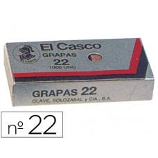 GRAPAS EL CASCO 22 -CAJA DE 1000