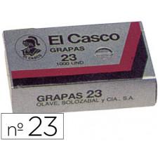 GRAPAS EL CASCO 23 -CAJA DE 1000