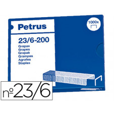 GRAPAS PETRUS Nº 23/6 -CAJA DE 1000