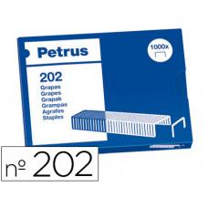 GRAPAS PETRUS BAMBINA Nº 202 -CAJA DE 1000 GRAPAS
