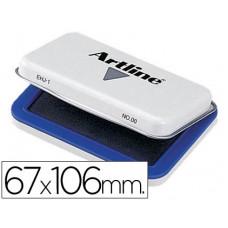 TAMPON ARTLINE Nº 1 AZUL -67X106 MM