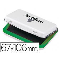 TAMPON ARTLINE Nº 1 VERDE -67X106 MM