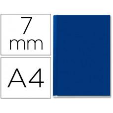 TAPA DE ENCUADERNACION CHANNEL RIGIDA 35567 AZUL LOMO A CAPACIDAD 36/70 HOJAS