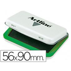 TAMPON ARTLINE Nº 0 VERDE -56X90 MM