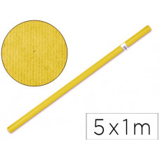 PAPEL KRAFT LIDERPAPEL -AMARILLO ROLLO 5X1 MT
