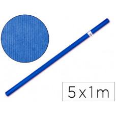 PAPEL KRAFT LIDERPAPEL AZUL -ROLLO 5X1 MT