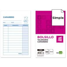 TALONARIO LIDERPAPEL CAMARERO BOLSILLO ORIGINAL T150