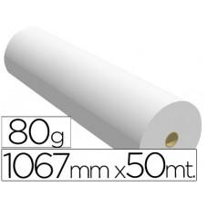 PAPEL REPROGRAFIA PARA PLOTTER 1067MMX50MT 80GR IMPRESION INK-JET