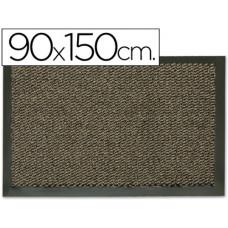 ALFOMBRA FAST-PAPERFLOW ANTIPOLVO GRIS BASIC 90X150 CM