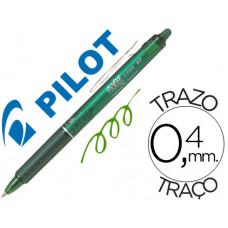 BOLIGRAFO PILOT FRIXION CLICKER BORRABLE 0,7 MM COLOR VERDE