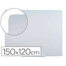PIZARRA BLANCA BI-OFFICE CRISTAL MAGNETICA 1500X1200 MM