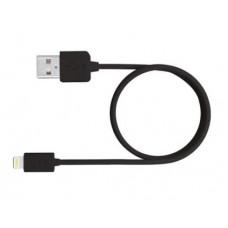 CABLE USB 2.0 A APPLE LIGHTNING MEDIARANGE USB 2.0 LONGITUD DE CABLE 1 MT NEGRO