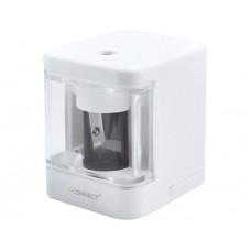 SACAPUNTAS Q-CONNECT KF-18750 ELECTRICO DE SOBREMESA CABLE USB/2 PILAS AA AFILA CUCHILLA DIAMETROS DE 6,5 A 8 MM
