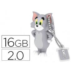MEMORIA USB EMTEC FLASH 16 GB 2.0 TOM