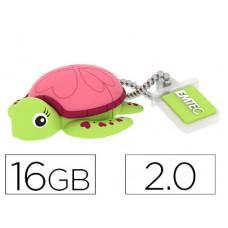 MEMORIA USB EMTEC FLASH 16 GB 2.0 TORTUGA