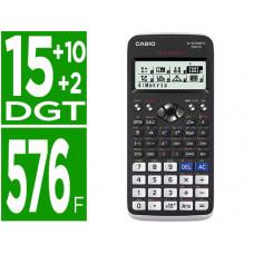 CALCULADORA CASIO FX-570SPX II CLASSWIZ CIENTIFICA 576 FUNCIONES 9 MEMORIAS 15+10+2 DIGITOS CODIGO QR CON TAPA