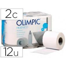 PAPEL HIGIENICO OLIMPIC 2 CAPAS PAQUETE DE 12 ROLLOS