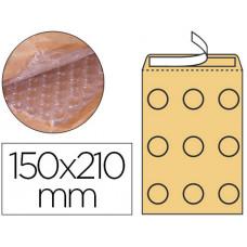 SOBRE BURBUJAS CREMA Q-CONNECT C/0 150 X 210 MM CAJA DE 100