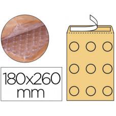 SOBRE BURBUJAS CREMA Q-CONNECT D/1 180 X 260 MM CAJA DE 100