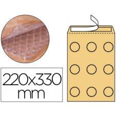 SOBRE BURBUJAS CREMA Q-CONNECT F/3 220 X 330 MM CAJA DE 50