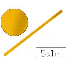 PAPEL KRAFT LIDERPAPEL AMARILLO ORO ROLLO 5X1 MT