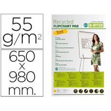BLOC CONGRESO BI-OFFICE PAPEL RECICLADO 55 GRS 650X980 MM