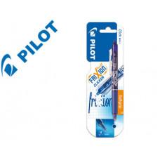 BOLIGRAFO PILOT FRIXION CLICKER BORRABLE 0,7 MM COLOR AZUL CLARO EN BLISTER