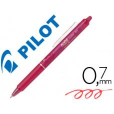 BOLIGRAFO PILOT FRIXION CLICKER BORRABLE 0,7 MM COLOR ROSA EN BLISTER