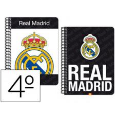 Cuaderno Safta cuarto Mod. 065 Real Madrid  155x220 mm (511557065)