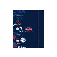 Carpeta anillas Safta BlackFit8 Letters 270x35x320 mm (542046666)